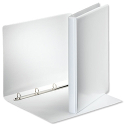 Esselte Presentation Ring Binder Polypropylene 4 O-Ring 15mm A4 White Ref 49700 - Pack 10