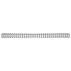 GBC Binding Wire Elements 34 Loop for 55 Sheets 6mm A4 Black Ref 47920 - Pack 100