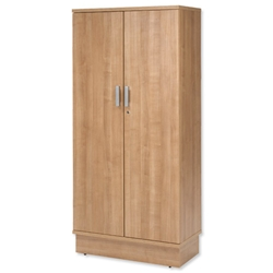 Adroit Virtuoso Storage Unit Tall W800xD420xH1775mm Cherry Marbella