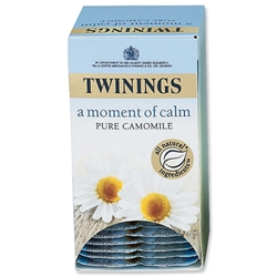 Twinings Infusion Tea Bags Individually-wrapped Camomile Ref A00809 - Pack 20