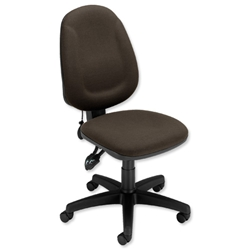 Trexus Plus High Back Asynchronous Posture Chair Seat W460xD450xH460-590mm Back H510mm Charcoal