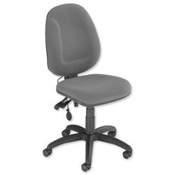 Trexus Plus High Back Asynchronous Posture Chair Seat W460xD450xH460-590mm Back H510mm Grey - Item image
