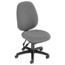 Trexus Heavy Duty Wellington 24/7 Operator Chair Seat W500xD490xH460-580mm Grey