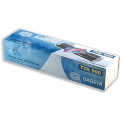 Sagem Fax Ribbon Black for Machines 330 350 410 420 2420 2325 Ref TTR900