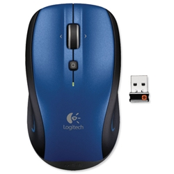 Logitech M515 Wireless Mouse Blue Ref 910-002095 - Item image