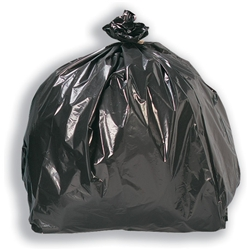 5 Star Bin Bags Economy 100 Gauge 457x737x864mm Black Ref XVF - Pack 200