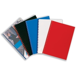 Ibico PolyCovers PolyClearView Binding Covers Polypropylene 300 micron Frosted Ref IB386848 - Pack 100