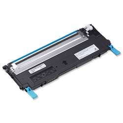 Dell J069K Cyan Laser Toner Cartridge for 1235cn Ref 593-10494