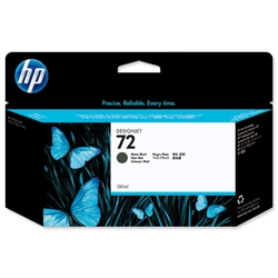 Hewlett Packard HP No. 72 Matte Black Inkjet Cartridge With Vivera Ink 130ml Ref C9403A
