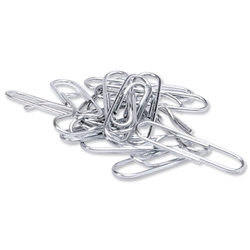 5 Star Paperclips Large Lipped 33mm - Pack 1000