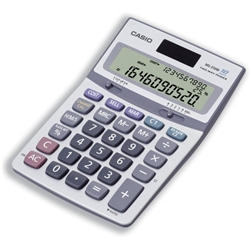 Casio MS-310 Desk Calculator Silver Ref MS310 - Item image