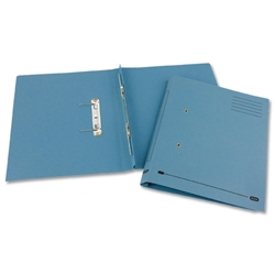 Elba Heavyweight Spring File Manilla 380gsm Foolscap Blue Ref 100092099 - Pack 25 - Item image