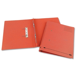 Elba Heavyweight Spring File Manilla 380gsm Foolscap Red Ref 100092105 - Pack 25