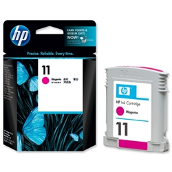 Hewlett Packard HP No. 11 Magenta Inkjet Cartridge 28ml Ref C4837A
