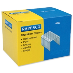 Rapesco 923/10mm Heavy Duty Staples Ref 92310Z3 - Box 4000
