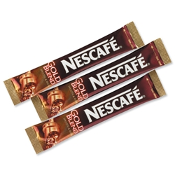 Nescafe Gold Blend Instant Coffee Granules Stick Sachets Ref 5219616- Pack 200