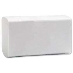 Hand Towels 2 Ply 230x310mm White Ref M02639 - Pack 200