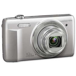 Olympus VR340 Digital Camera 3.0in LCD 10x Optical Zoom 16MP Silver RefVR-340 - Item image