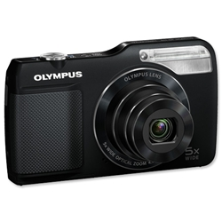Olympus VG170 Digital Camera 3.0in LCD 5x Optical Zoom 14MP Black Ref VG-170 - Item image