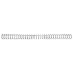 GBC Binding Wire Elements 34 Loop for 55 Sheets 6mm A4 Silver Ref 2101008 - Pack 100