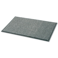 Door Mat Dust and Moisture Control Polypropylene 900mmx1500mm Black and White