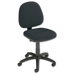 Trexus Office Operator Chair Medium Back H300mm Seat W460xD430xH460-580mm Charcoal