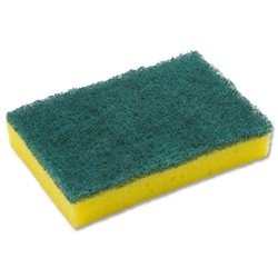 Washing Up Pad Scourer and Sponge [Pack 10]