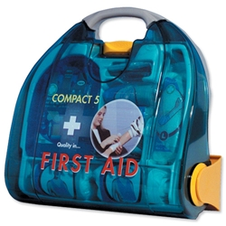 Wallace Cameron Bambino First Aid Kit for Between 1-5 Users Dispenser Ref 1001001