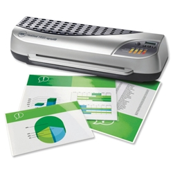 GBC HeatSeal H520 A3 Laminator Office High Speed up to 350 micron 6.3kg W615xD185xH240mm Ref 1702870 - Item image