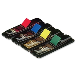 3M Post-It Index Flags Refill 4 Colours Ref 6834