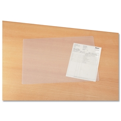 Durable Duraglas Desk Mat Transparent Anti-glare W530xD400mm Ref 7112/19