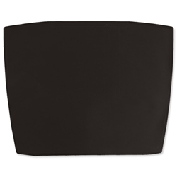 Durable Artwork Desk Mat with Transparent Anti-glare Overlay 680x510mm Black Ref 7201/01