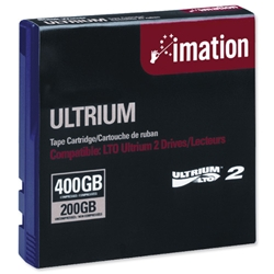 Imation Ultrium LTO 2 Data Tape Cartridge 200-400GB 609m Ref i16598 - Item image