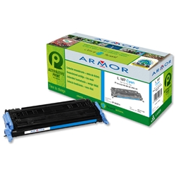 Armor Compatible Laser Toner Cartridge Page Life 2000pp Cyan - HP No. 124A Q6001A Equivalent Ref K12241 - Item image