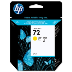 Hewlett Packard HP No 72 Yellow Inkjet Cartridge Ref C9400A