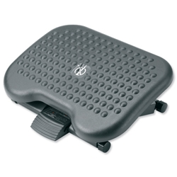 Footrest Tilting Adjustable H95-170mm Charcoal - Item image