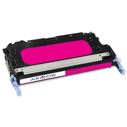 Armor Compatible Laser Toner Cartridge Page Life 3500pp Magenta - HP No. 314A Q7563A EquivalentRef K12246 - Item image