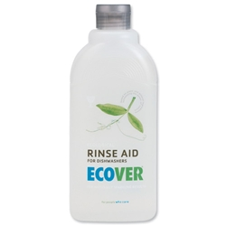 Ecover Dishwasher Rinse Aid Environmentally-friendly 500ml Ref VEVDRA - Pack 2