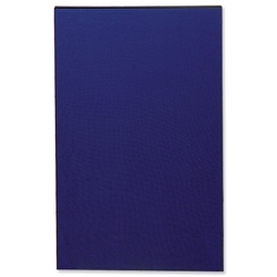 Trexus Floor Standing Screen Lightweight Linkable 800x1600mm Blue Ref E0800/1600B