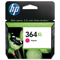 Hewlett Packard HP No. 364XL Magenta Ink Cartridge Ref CB324EE #ABB
