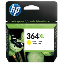 Hewlett Packard HP No. 364XL Yellow Ink Cartridge for PhotoSmart C5380/C6380/D5460 Ref CB325EE #ABB