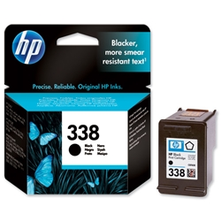 Hewlett Packard HP No. 338 Black Inkjet Print Cartridge 11ml Ref C8765EE