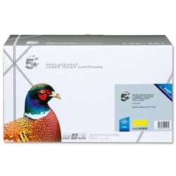5 Star Compatible Laser Toner Cartridge Page Life 6000pp Yellow - HP No. 503A Q7582A Equivalent