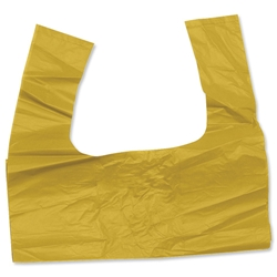 Bag Tie Handle 100 Litre Capacity Yellow [Box 200]