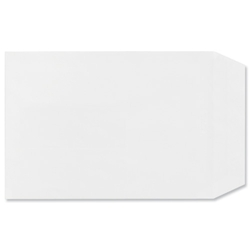 Plus Fabric Envelopes Pocket Peel and Seal 110gsm 254x178mm White Ref A28770 - Pack 250 - Item image