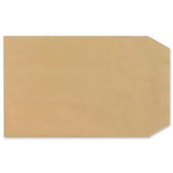 New Guardian Lightweight Pocket Envelopes Press Seal 80gsm Manilla C5 - Pack 500