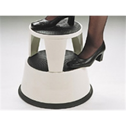 (KIK38 Black) Kick-Along mobile step stool 400mm p - Item image