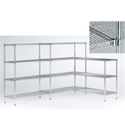 (L71.459/4 ) Chrome wire 4-shelf 900x450 starter b - Item image