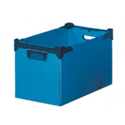 Stacker Boxes Polypropylene 300x295x465mm Blue Ref SBP230/10 - Item image