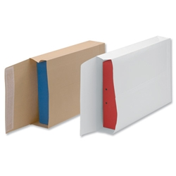 New Guardian Armour Envelopes Peel And Seal Gusset 50mm 130gsm Kraft Manilla 330x260mm Ref J28203 - Box 100